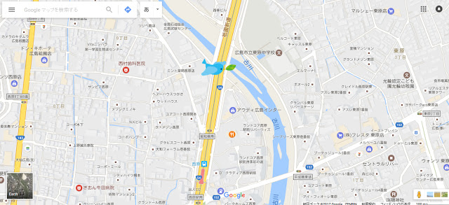 昭和橋(南)の土手 | 雨でも濡れない遊び場