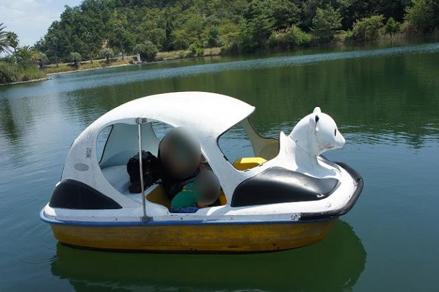 グリーンピアせとうち こどもの国 ボート