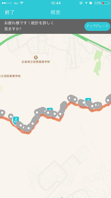 トレイルランニングコース 火山、武田山縦走