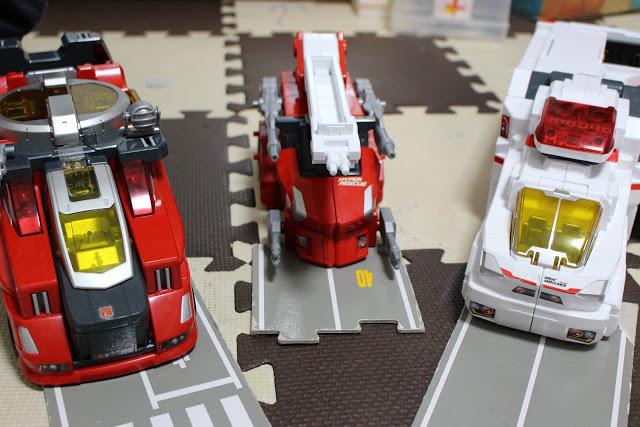 グレートアンビュランス グレートアンビュランス パワード消防車