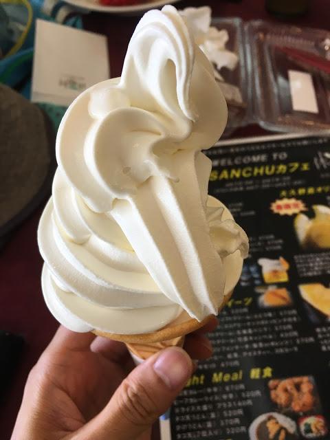 大久野島 ソフトクリーム
