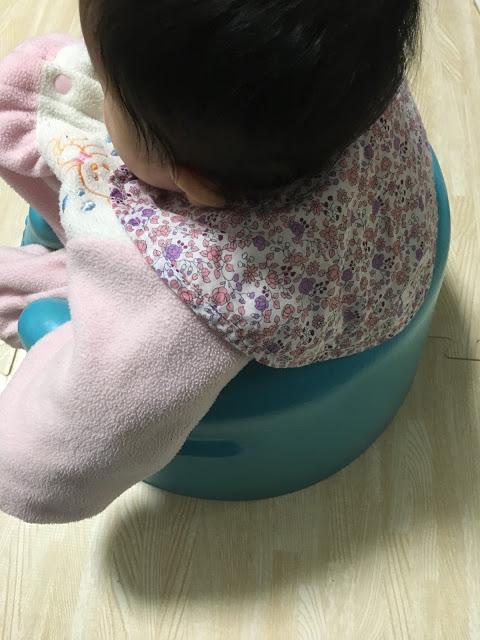 赤ちゃんのスタイは やはりドーナツ形に限る