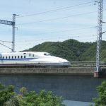 新幹線が目の前に見える絶景スポット