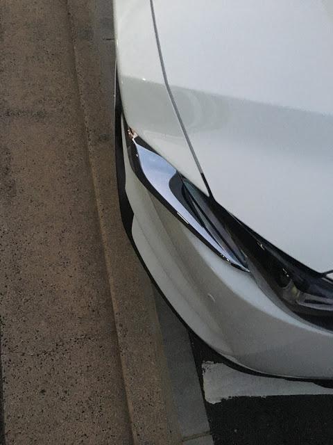 CX-8 全長が長くて平面駐車場でもはみ出る?