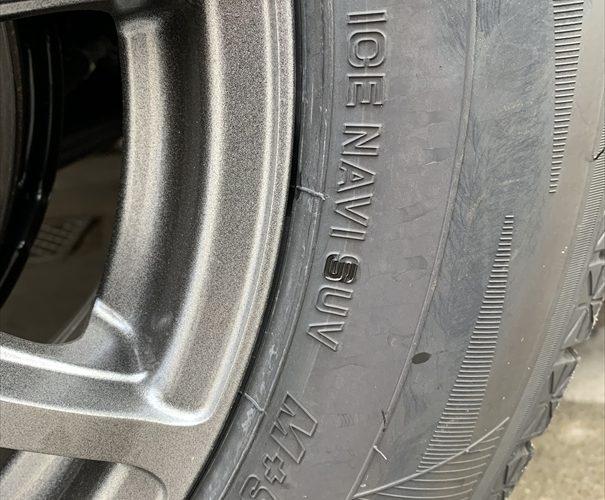 CX-8 スタッドレスタイヤのロードノイズと突き上げがひどい