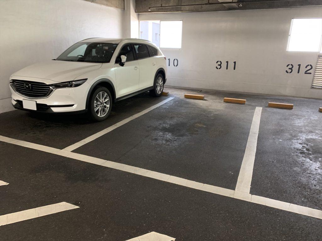 センター街駐車場,CX-8
